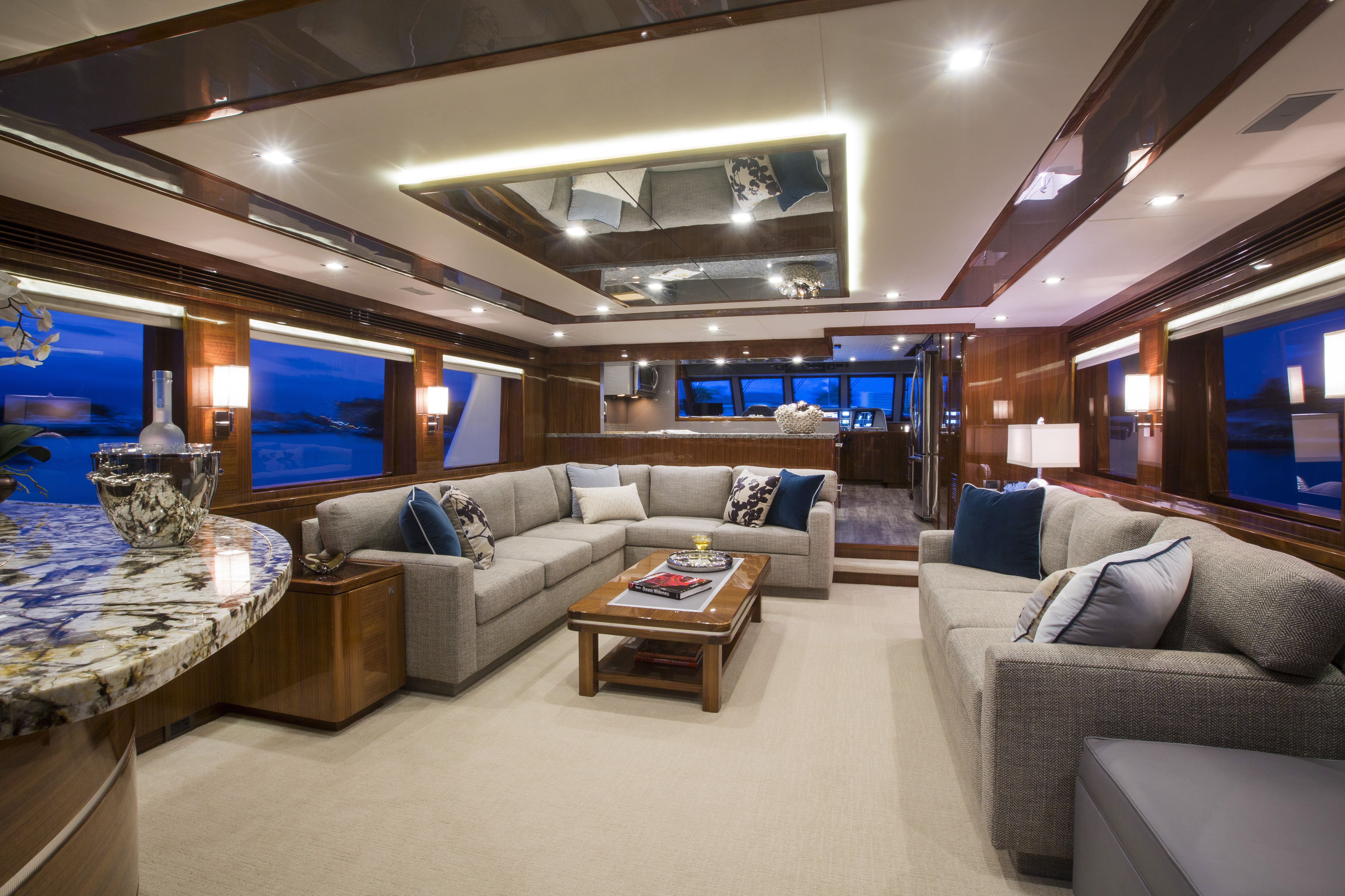 87 Outer Reef Ti Punch Yacht Interior Design Boat House