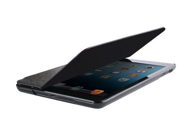 2-fold Cut & Sew Folio Kick stand Smart Flip Leather Cases for iPad mini 3, 2 and 1 | Lagoo Tech