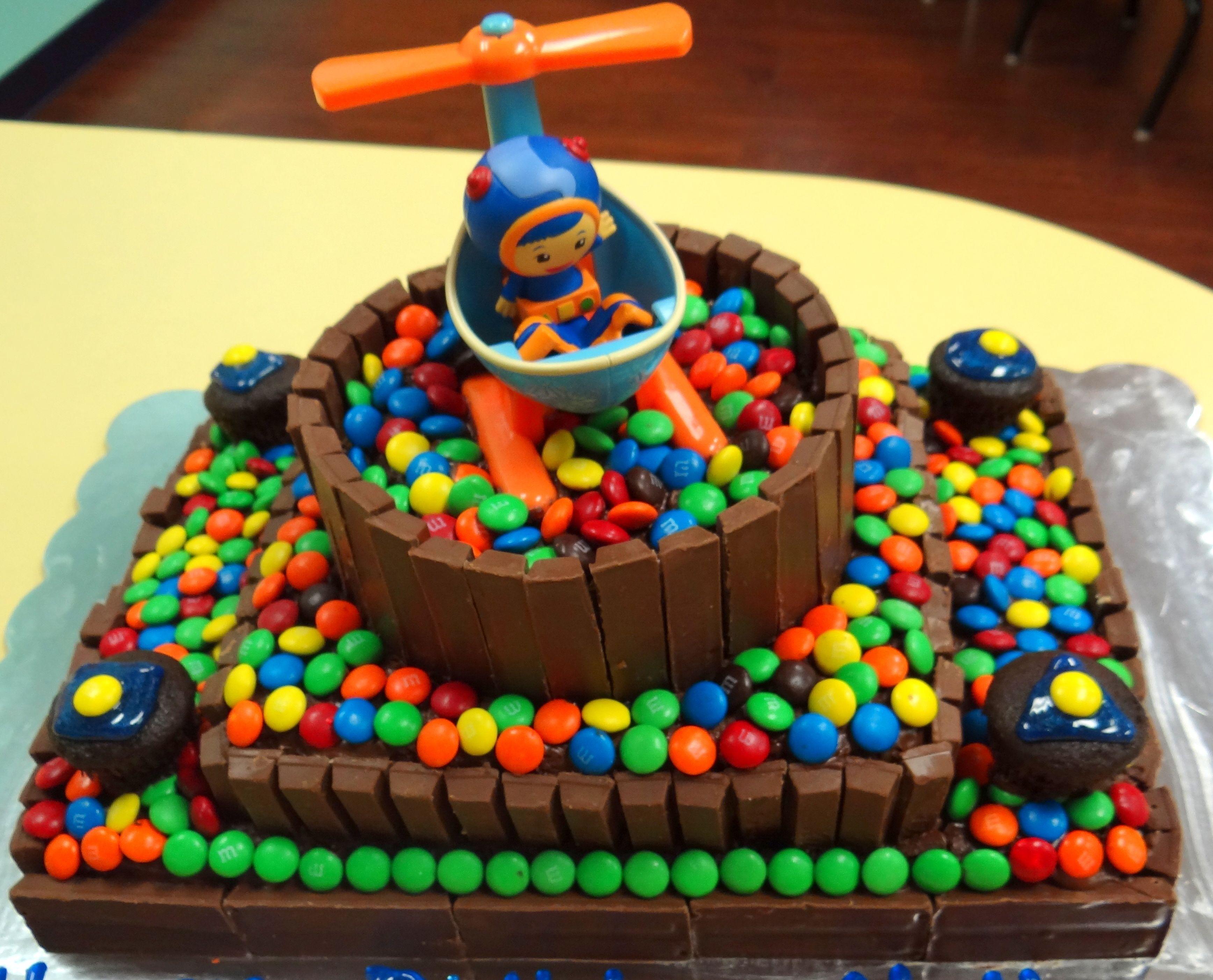 The Easy Way To Make A Team Umizoomi Birthday Cake