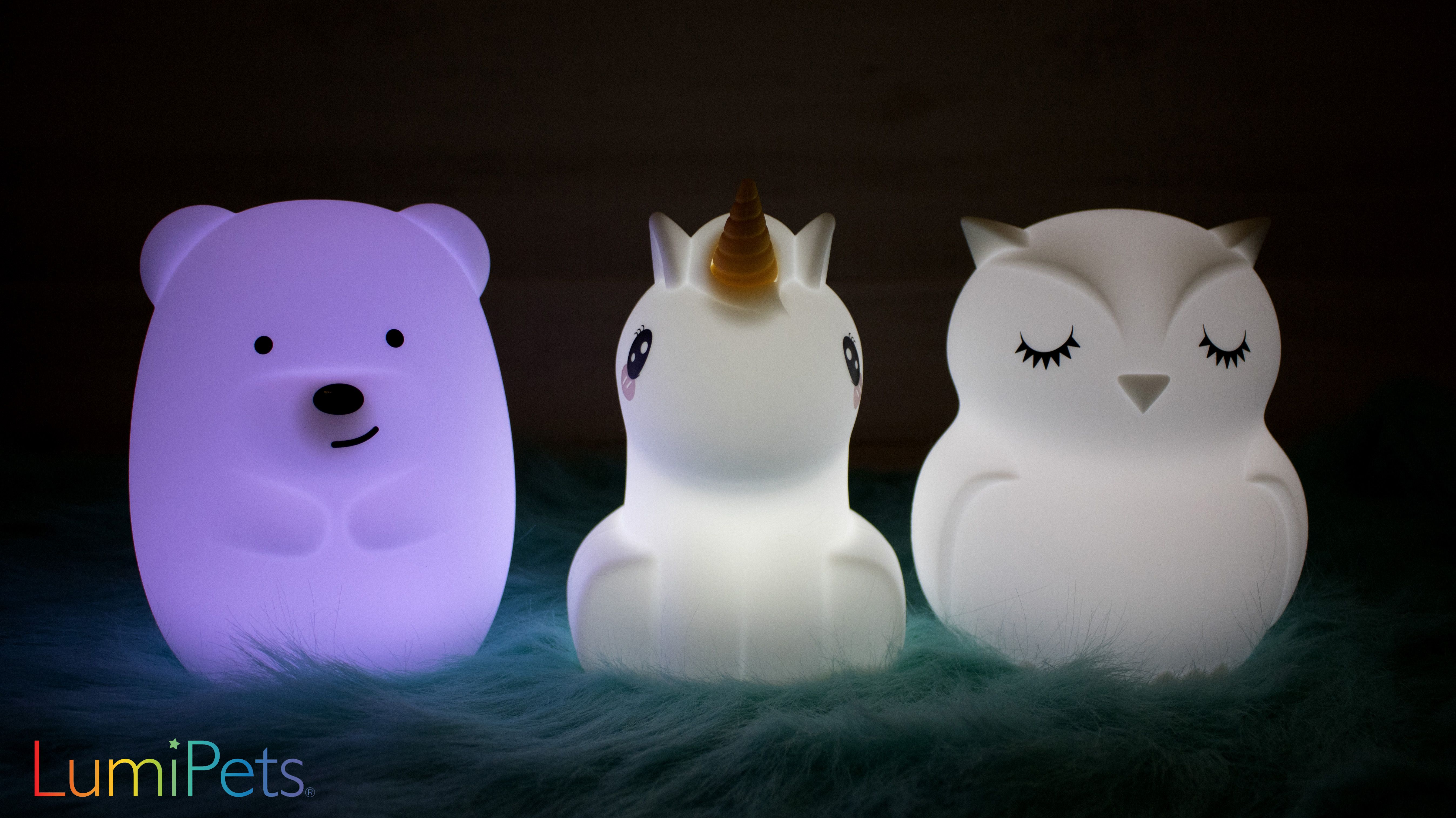 Let Lumipets Light Up Your World Baby Night Light Nursery Night Light Toddler Night Light