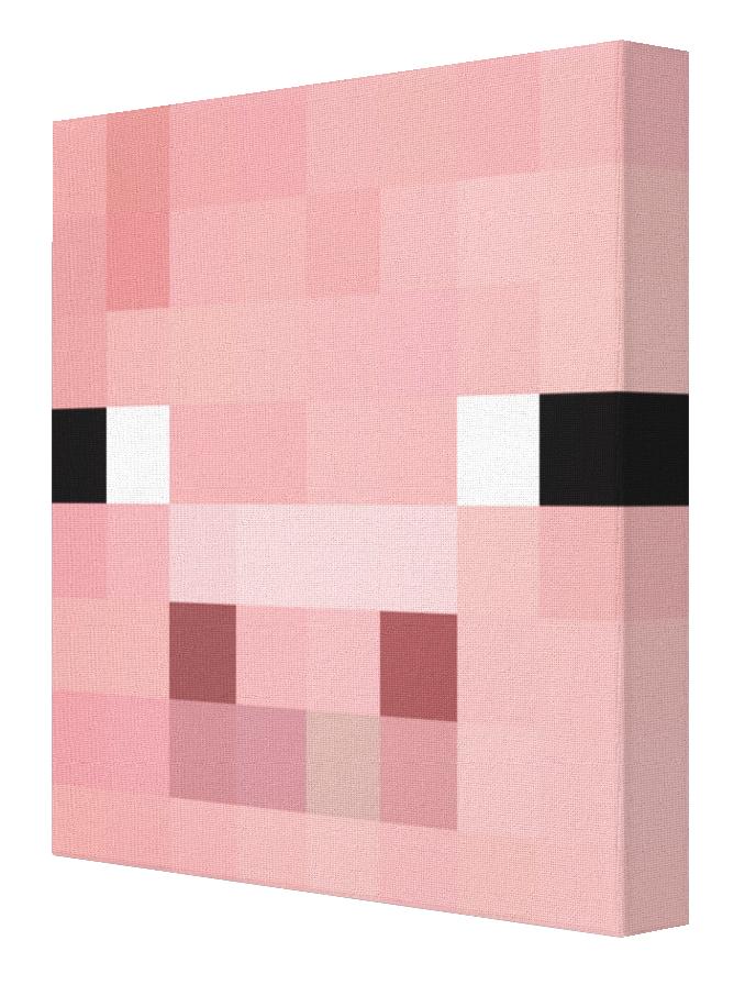 Minecraft Pig Minecraft Pig Minecraft Pig Face Minecraft Bedroom