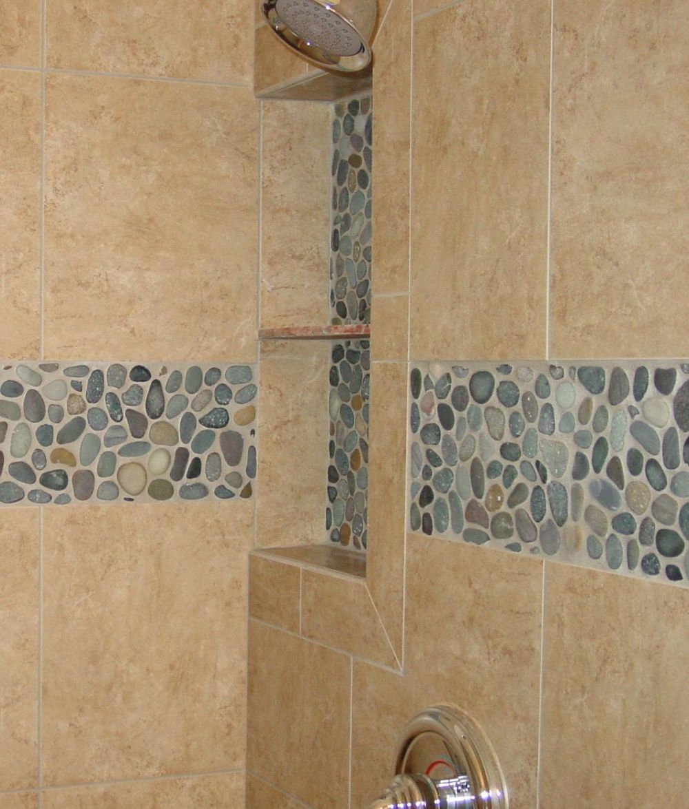 Tile Shower Shampoo Niche Soap Dish And Shampoo Recess Tile