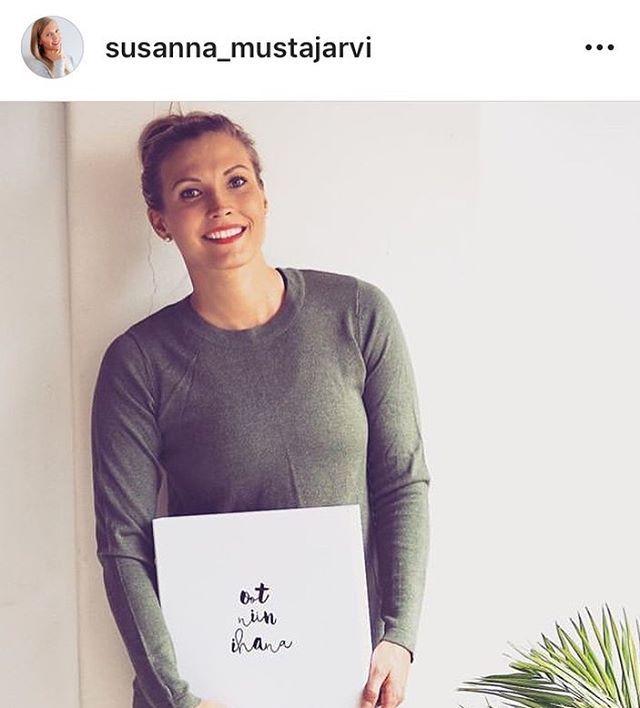 Susanna Mustajärvi Instagram