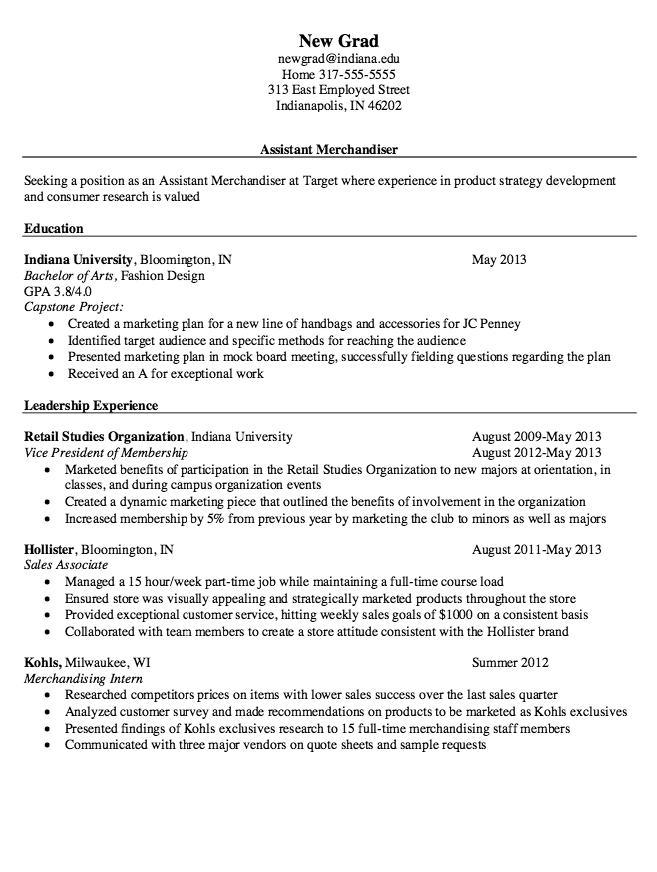 this examples assistant merchandiser resume we will give you a refence start on building resume you can optimized this example resume on creating resume