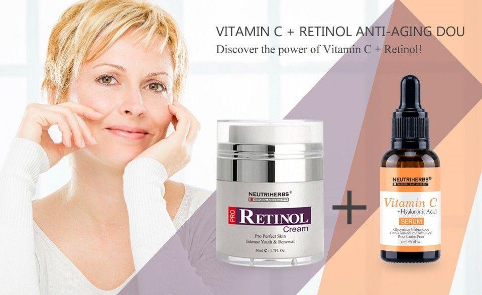 Retin A Vitamin C Serum Retinol Serum Serum Cream Vitamins