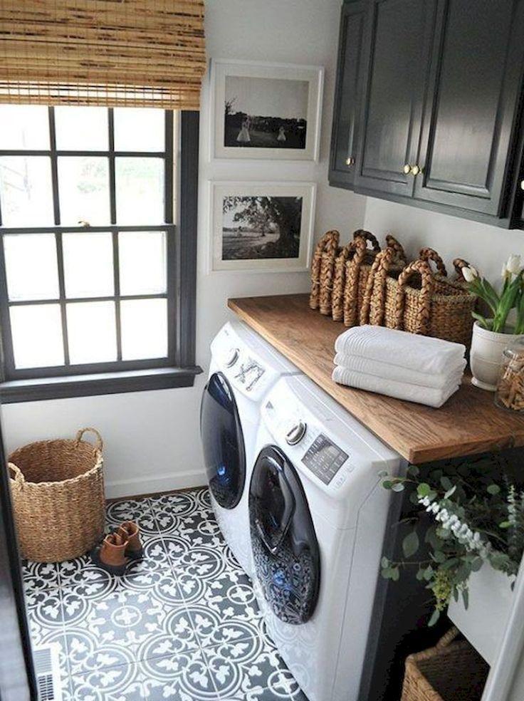 55 Gorgeous Laundry Room Design Ideas and Decorations - #décorations #design #Gorgeous #Ideas #Laundry #room #designbuanderie