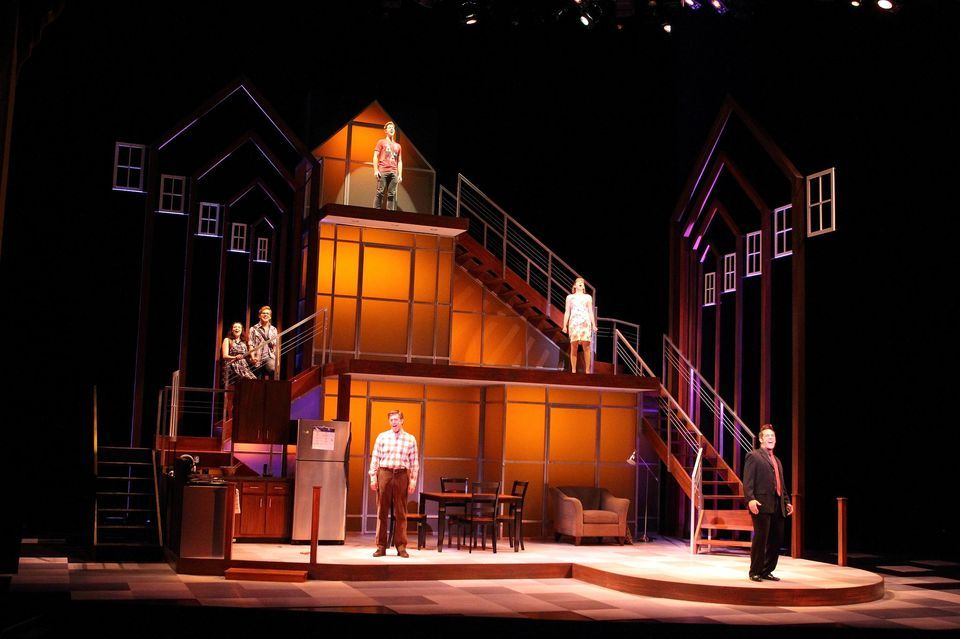 Next To Normal Love The Set Lighting Design Theatre Lighting Design Set Design Theatre