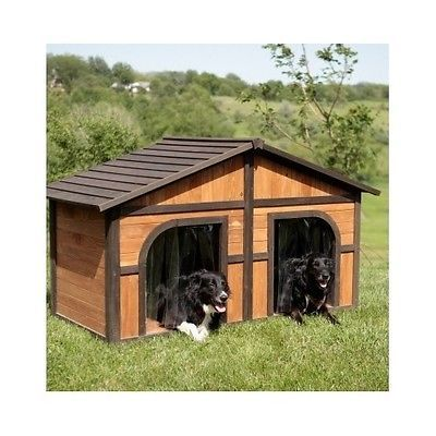 Details About Wood Outdoor Dog House Pet Shelter Extra Large Kennel Weather Resistant M Xl Wood Dog House Cool Dog Houses Fancy Dog Houses