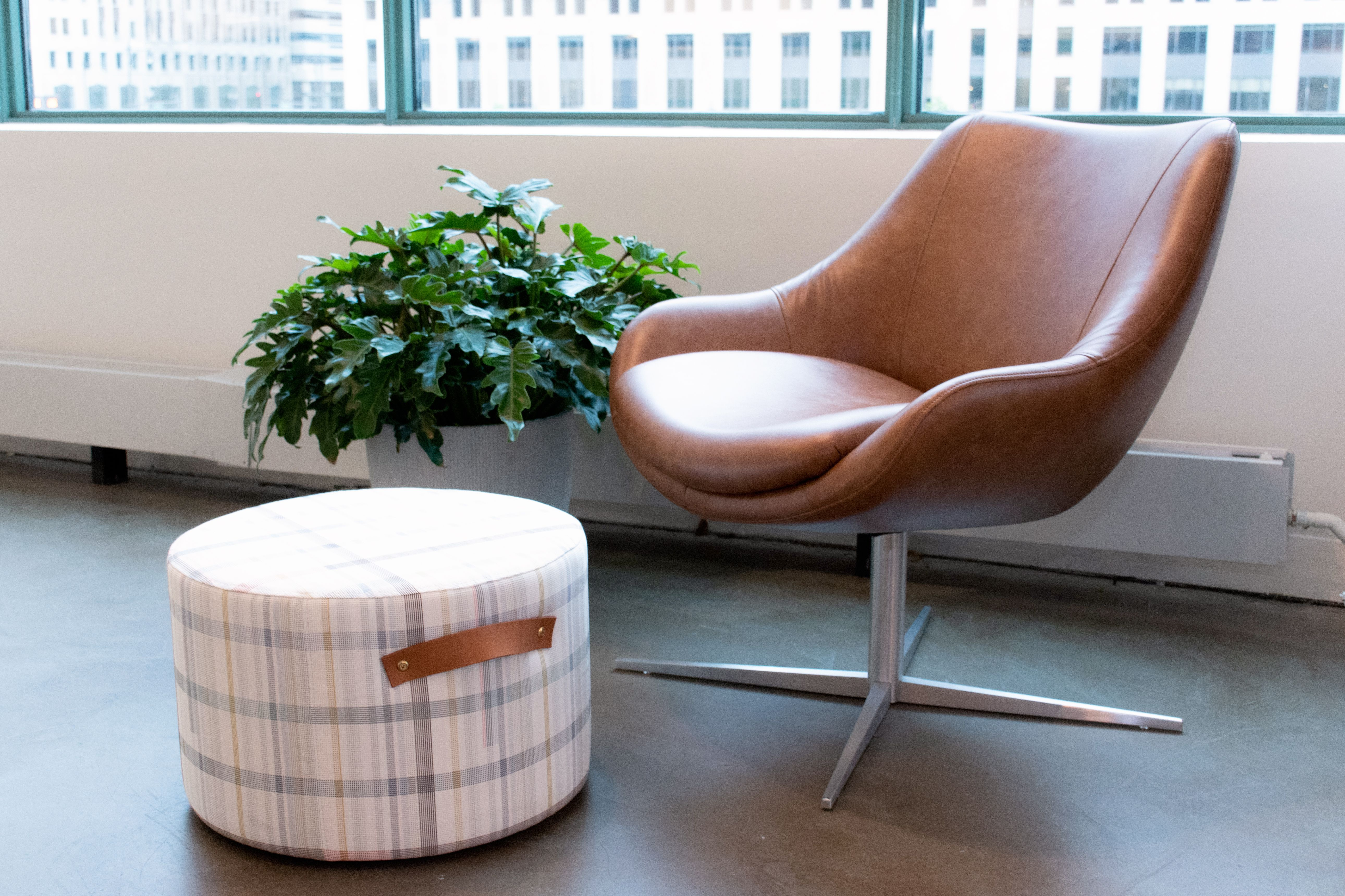 Kimball Furniture Chicago Showroom Bloom Lounge Chair And