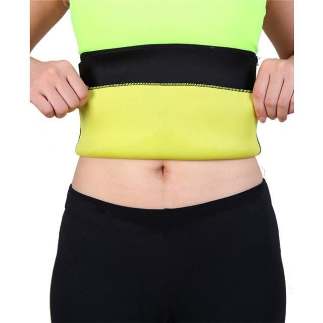 6e79ce024f8a2 NINGMI Women Modeling Body Belt Belly Band Corsets Neoprene Latex Shaper  Weight Loss Slimming Waist Trainer Strap Cincher Girdle