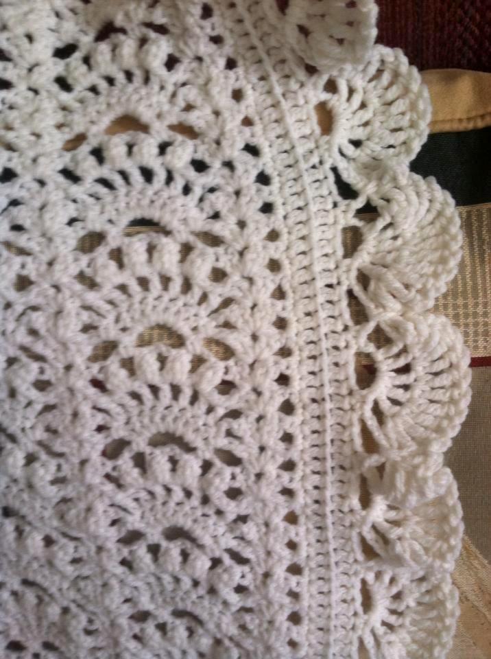 Lacy Crochet: mantas para bebés | Mantas- Pañoletas- Blanket ...
