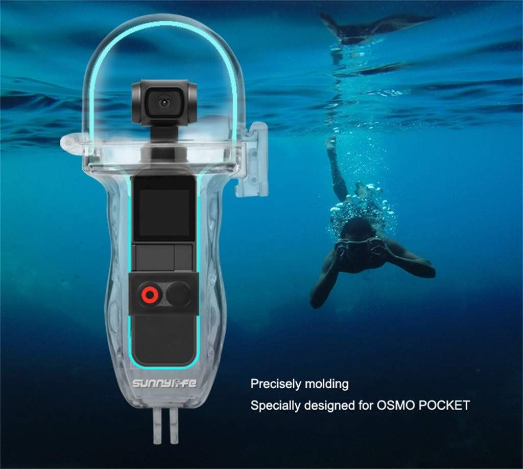Underwater Diving Case Protective Cover Accessories Forart Diving Waterproof Case Shell Waterproof Housing Shell Case Filter Kit for DJI OSMO Pocket