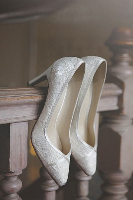 Brautschuhe von elegant