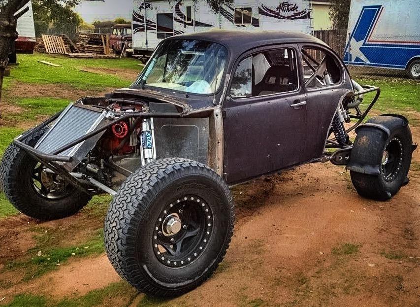 HRT Motorsports built 1973 street legal smog exempt Baja Bug