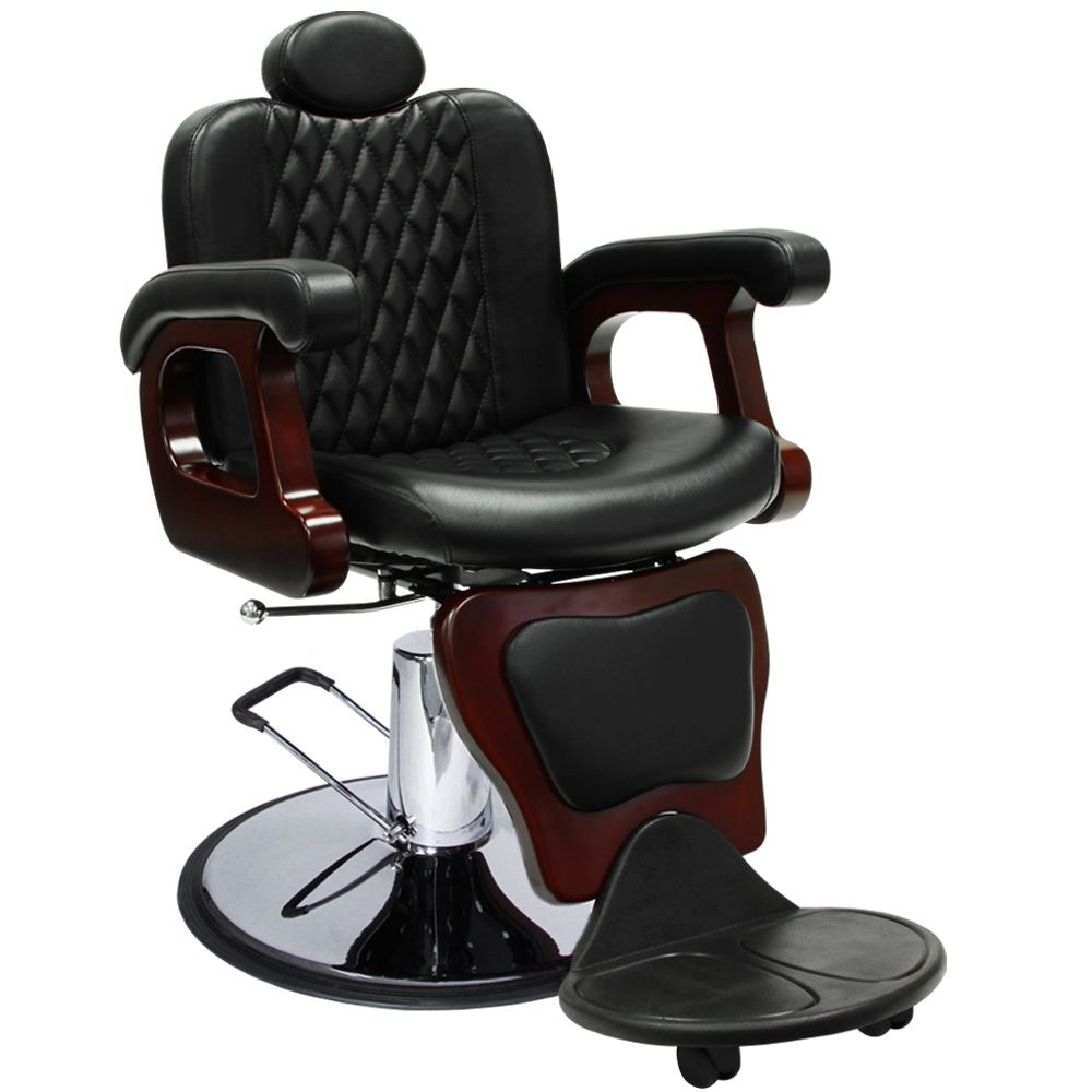 Contemporary reclining barber chair bc21 integrate