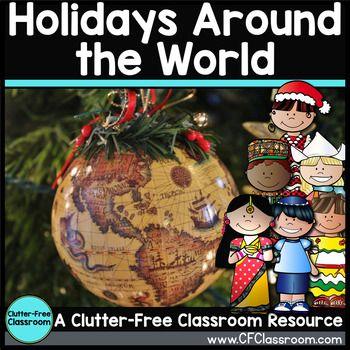 Holidays Around the World Christmas Around the World Activities