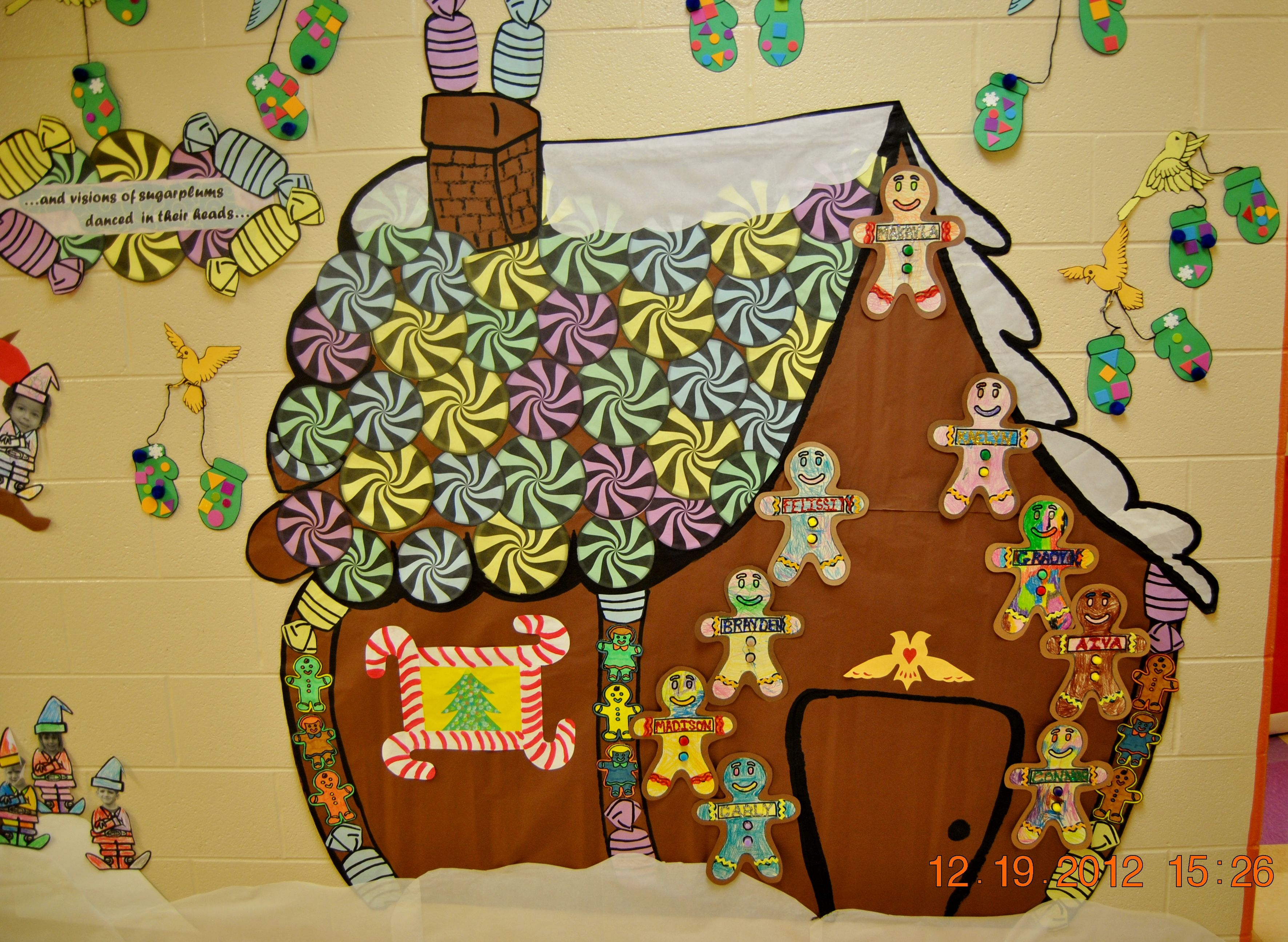 Full View Of Our Gingerbread House