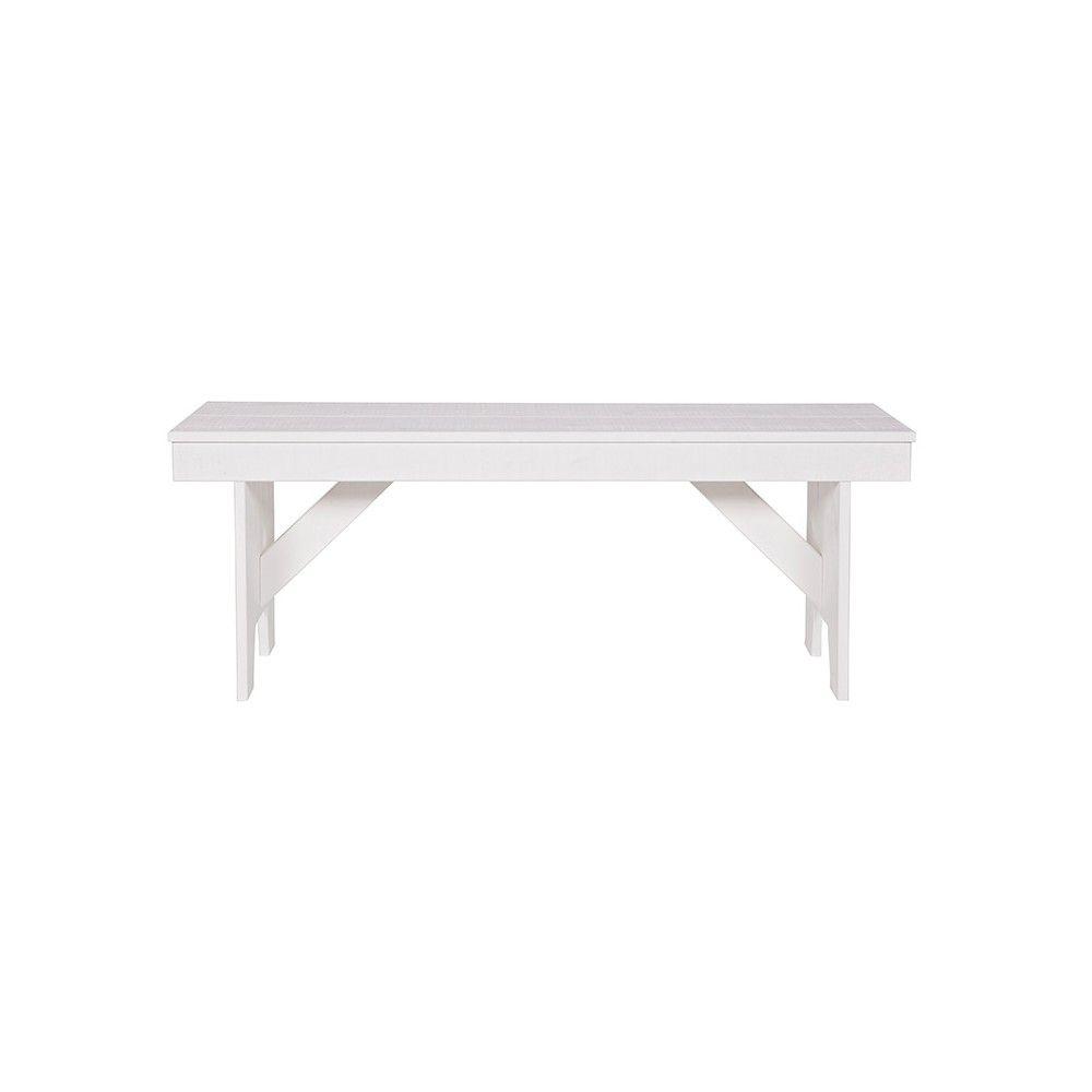 Banco Loet, blanco | Muebles para exterior, Colores blancos y Bancos