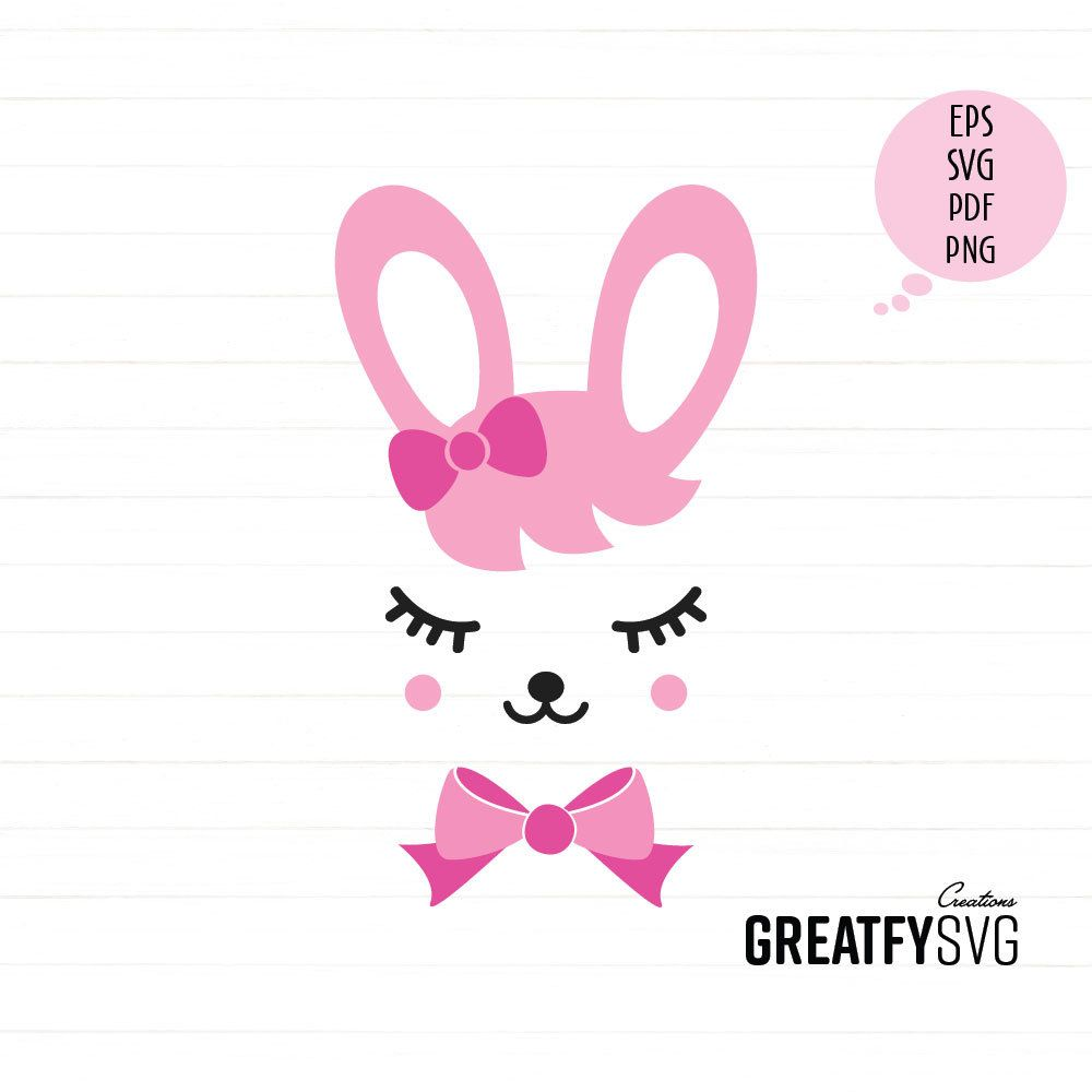 This Item Is Unavailable Etsy Bunny Face Cute Bunny Svg