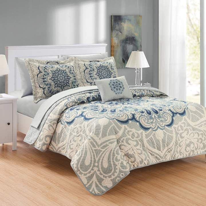 d3f9d54a2774 Chic Home Raina Quilt Set in 2019 | Products | Quilt bedding ...