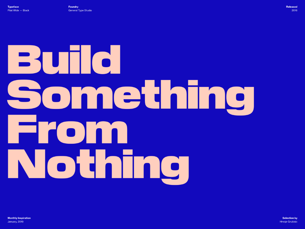 Typography Inspiration January 2019 Font Selection In 2020 Typography Inspiration Minimal Web Design Web Design