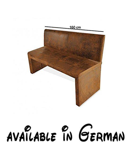 B078H49R46 : SAM Esszimmer Sitzbank Family Wilson In Brauner Wildlederoptik  160 Cm Breite Sitzbank Mit Pflegeleichtem SAMOLUX Bezug Angenehmer  Sitzkomfort ...