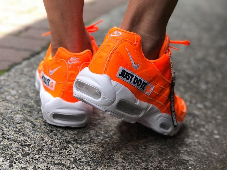 nike air max 95 premium total orange