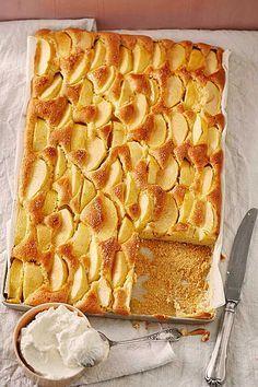 Apfelkuchen Schnell Und Fein Apfelkuchen Kuchen Cake Und Desserts