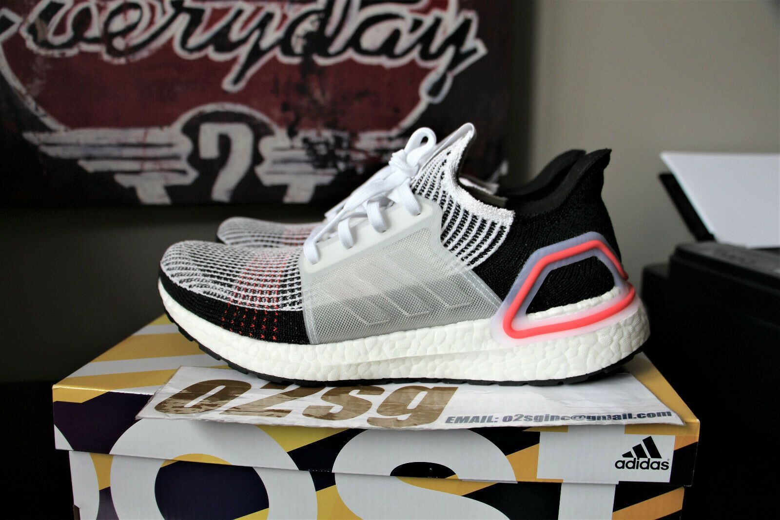 c2cfa219a373c Details about Adidas Ultra Boost 2019 Running Training Shoes B37703 ...