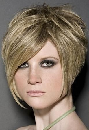 50 Super Cute Looks with Short Hairstyles for Round Faces Cabello - cortes de cabello modernos para mujer