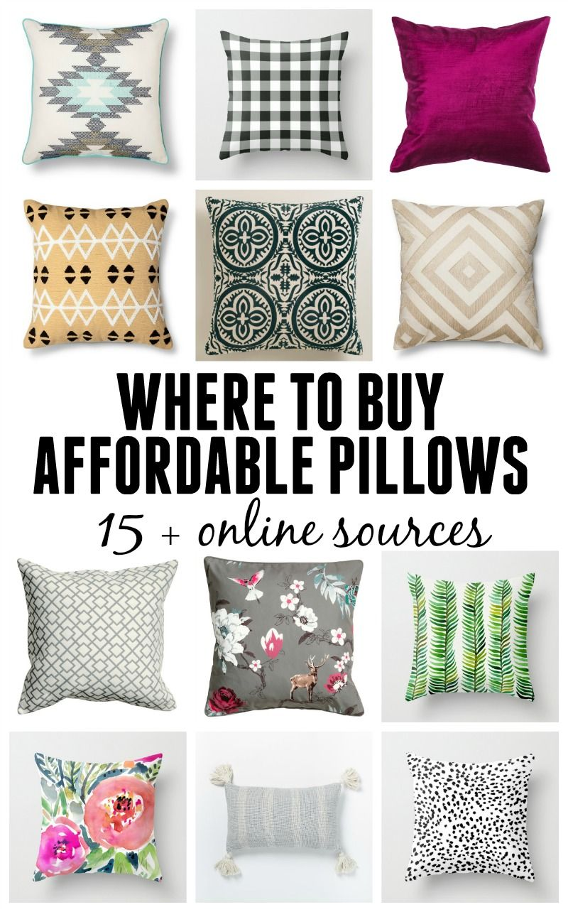 Where To Buy Affordable Pillows 15 Online Resources