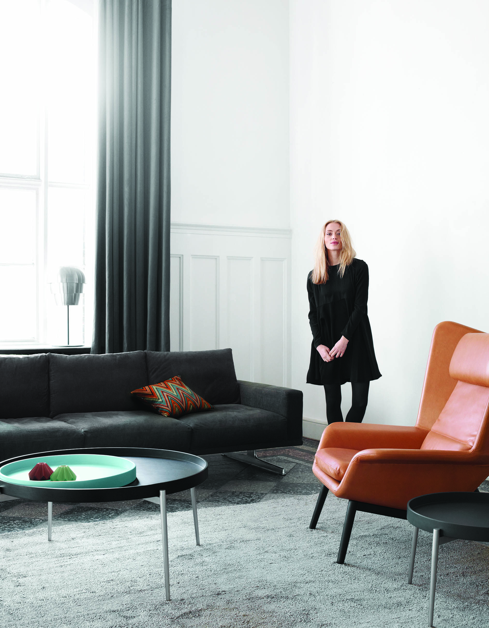 BoConcept Design CARLTON sofa HAMILTON chair LIVING Pinterest