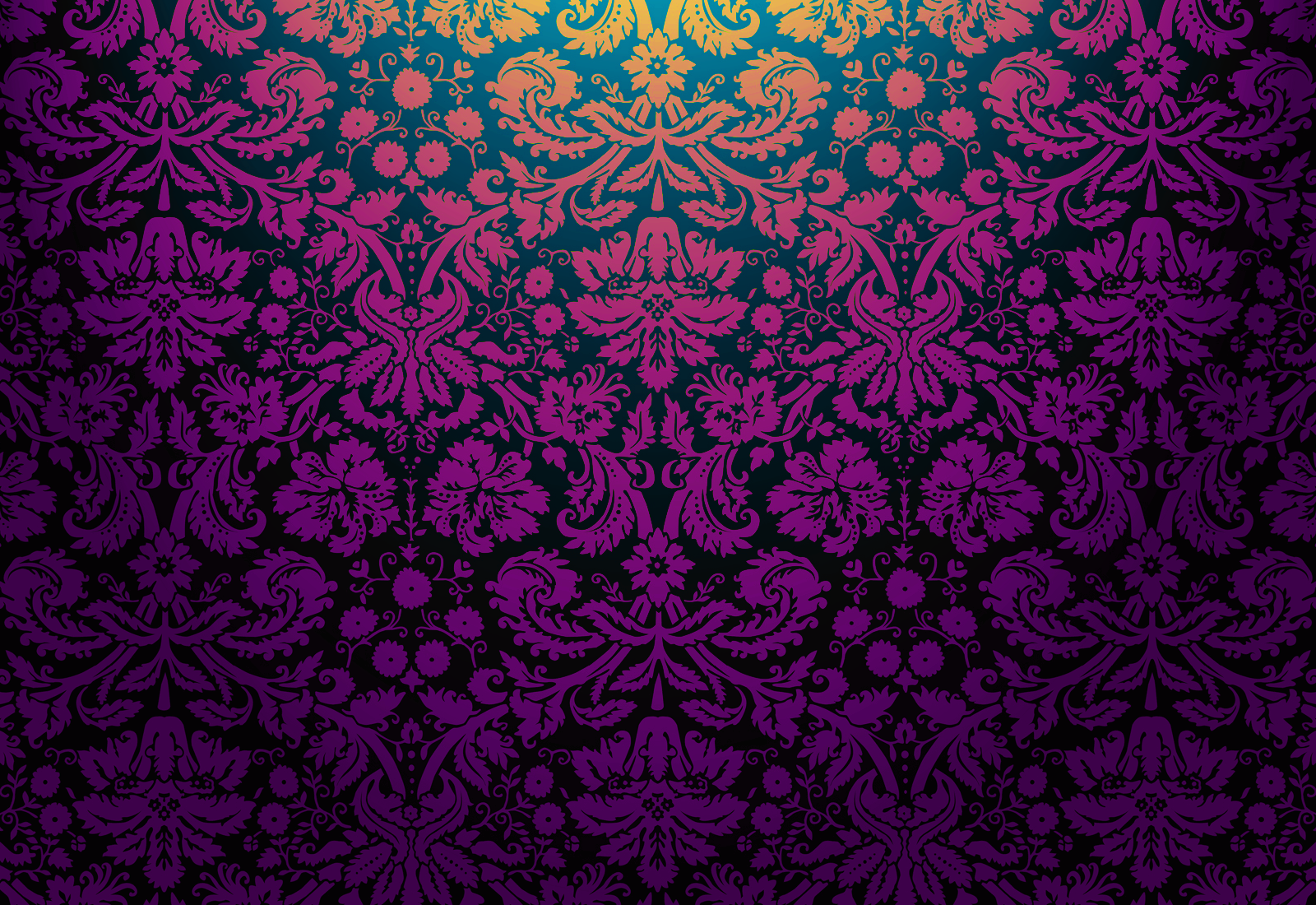 Floral damask 2 by mia77 on deviantart Gothic background