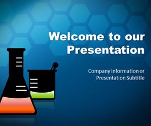 Awesome Science PowerPoint template #slide background for science projects