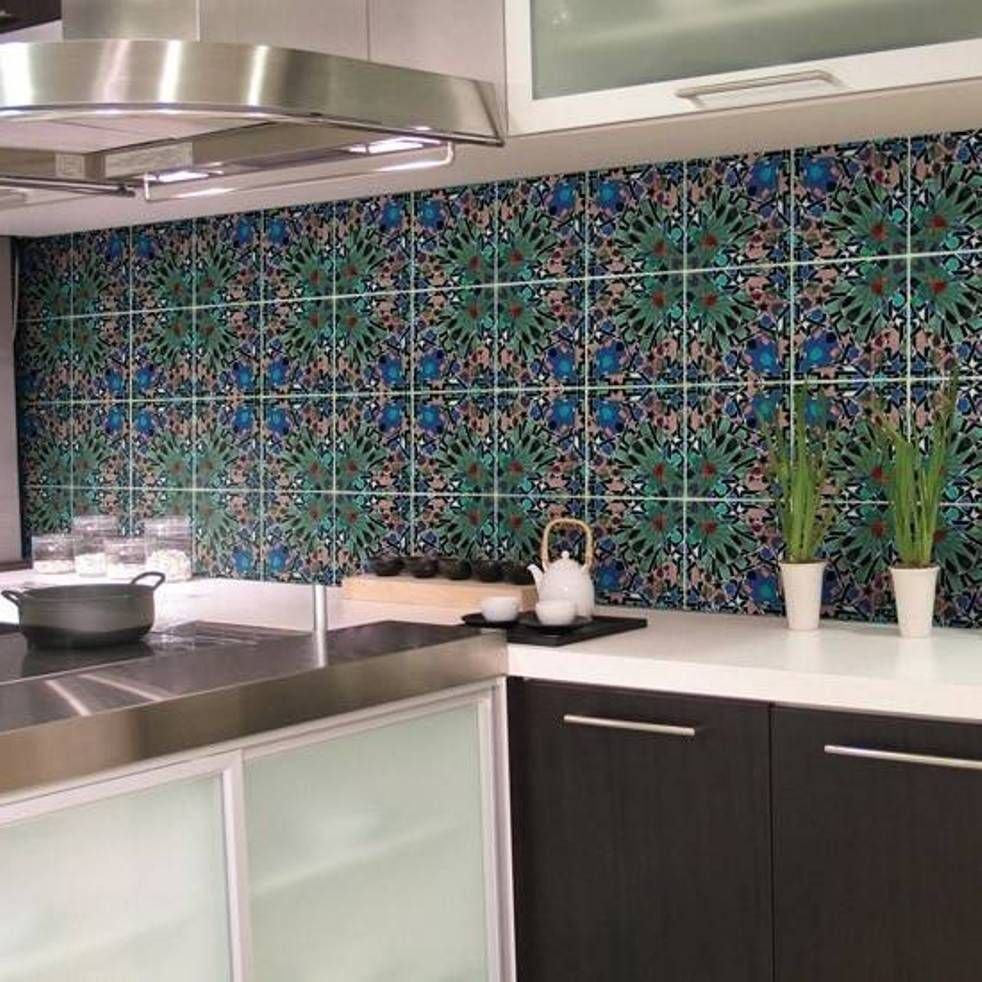 Kitchen Wall Tile Ideas Pictures  Bathroom Furniture Ideas  Tile New Designer Kitchen Tiles Decorating Design