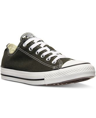 d78e70f5fb77 Converse Men s Chuck Taylor Ox Casual Sneakers from Finish Line - Sneakers    Athletic - Men - Macy s