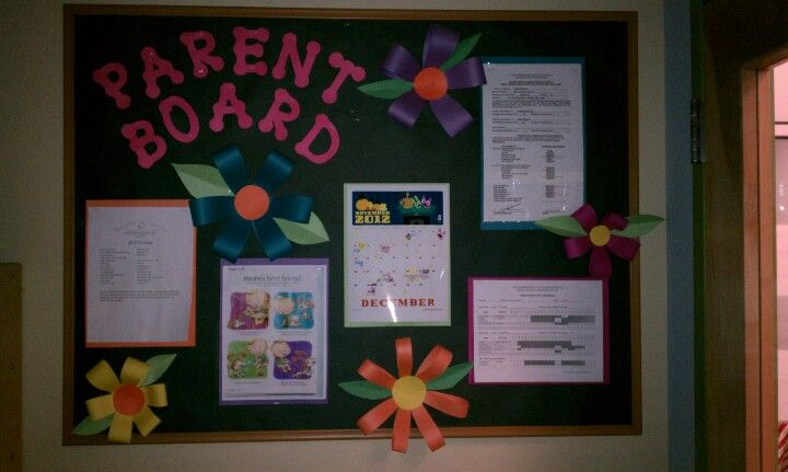 preschool parent information bulletin boards this idea to keep parents updated and informed 662