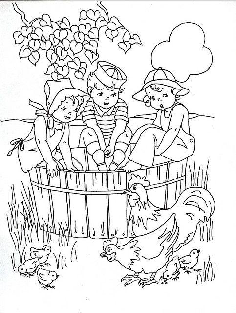 Coloring Book Kids Kids Coloring Books Coloring Books Vintage Coloring Books