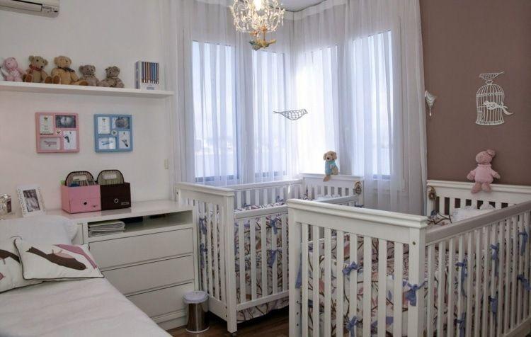 Imaginer Meubler Et Decorer La Chambre Bebe Jumeaux Ideale