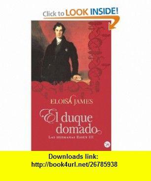 El Duque Domado Eloisa James Julio 2017 Duke Ebook Book Cover