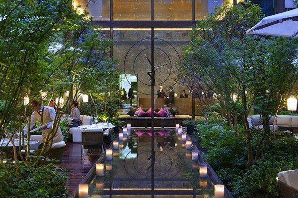 indoor garden hotel - Cerca con Google