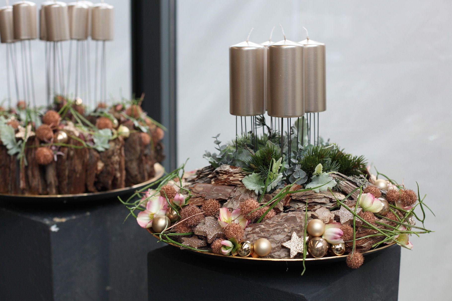 weihnachtliche gesteck ideen mehr sehen winter pinterest. Black Bedroom Furniture Sets. Home Design Ideas
