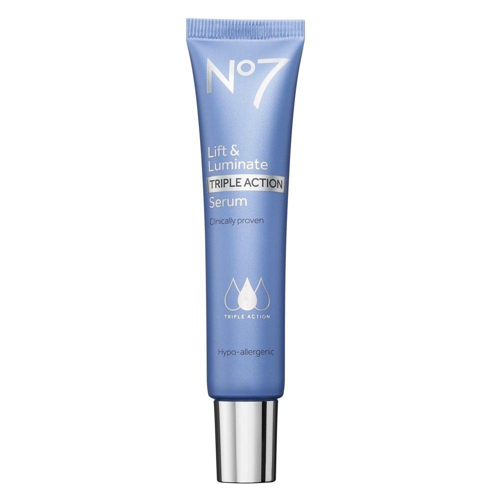 No7 Lift Luminate Triple Action Serum 1 Fl Oz 1ct No7 Serum Spring Skin Care