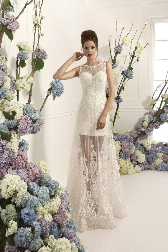 Böhmische Brautkleid | Hochzeit Kleider | Strand Brautkleider | Boho ...