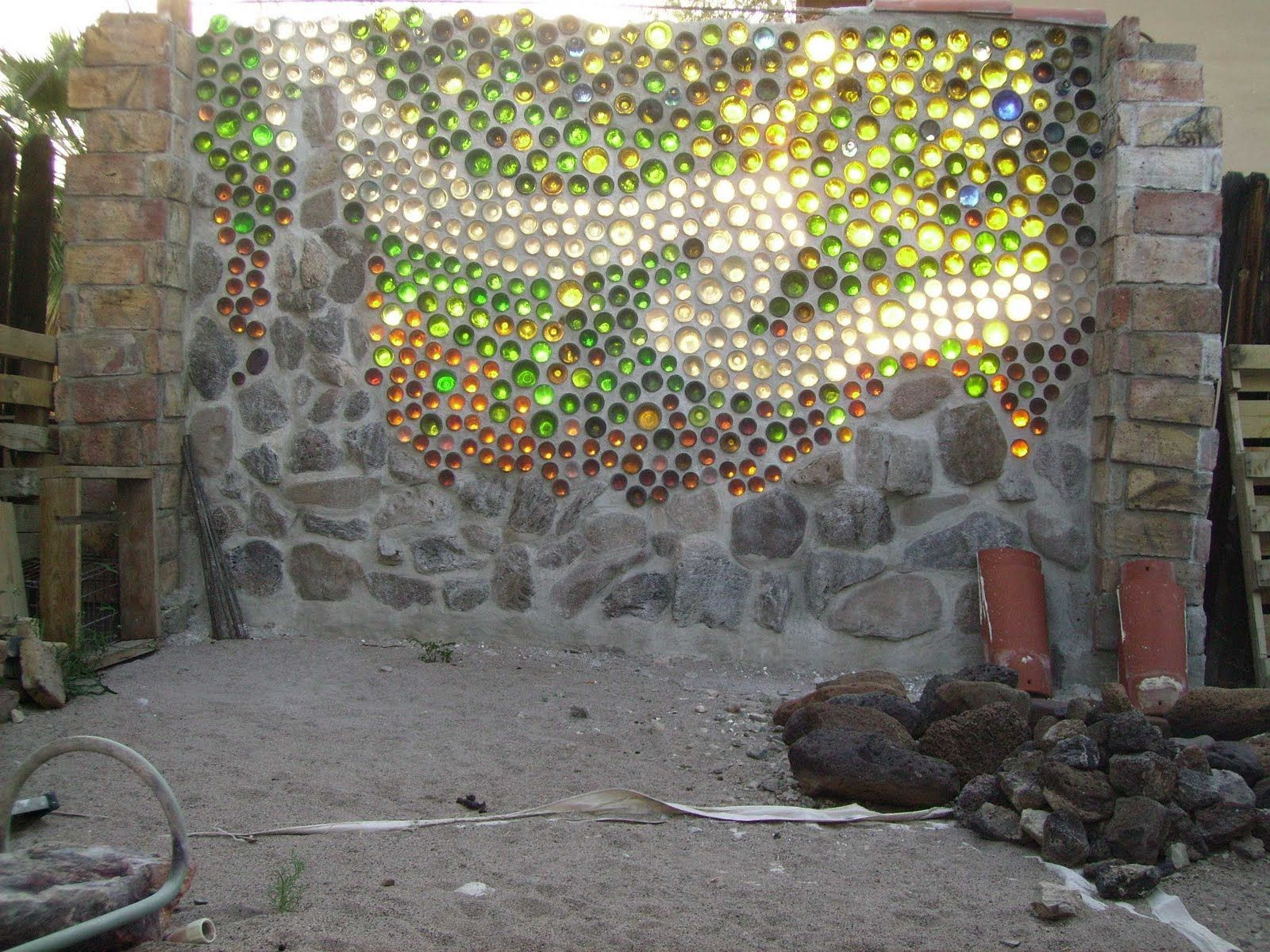 bottle wall bottle wall is a wall made out of glass