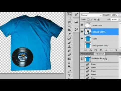 Download How To Make Realistic Tshirt Mock Ups Templates For Sites Like Threadless Photoshop Cs5 Cs6 Photoshop Photoshop Tutorial Photoshop Cs5