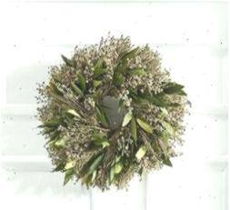 Fresh Olive Leaf Amp Myrtle Wreath Green Pillows Amp Decor