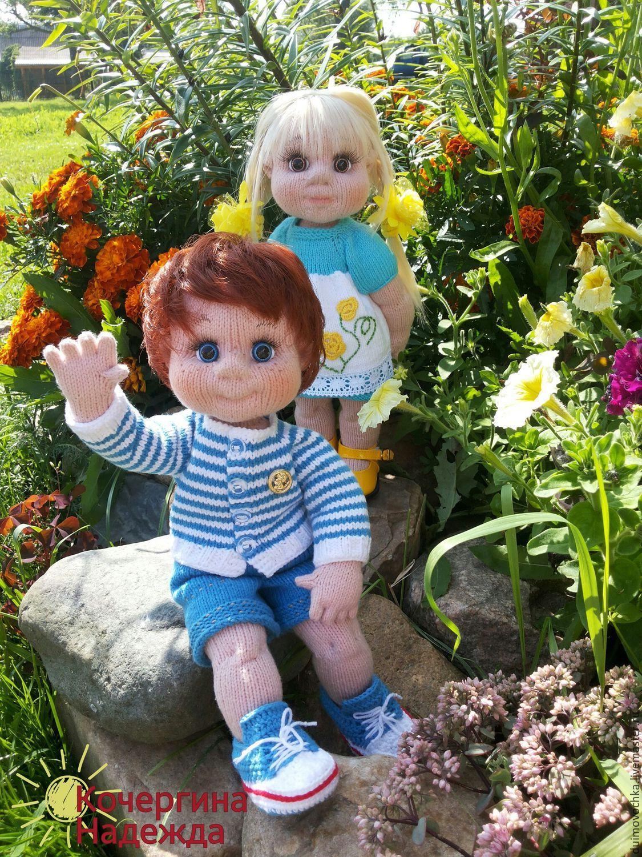 мк по вязанию кукол бесплатно