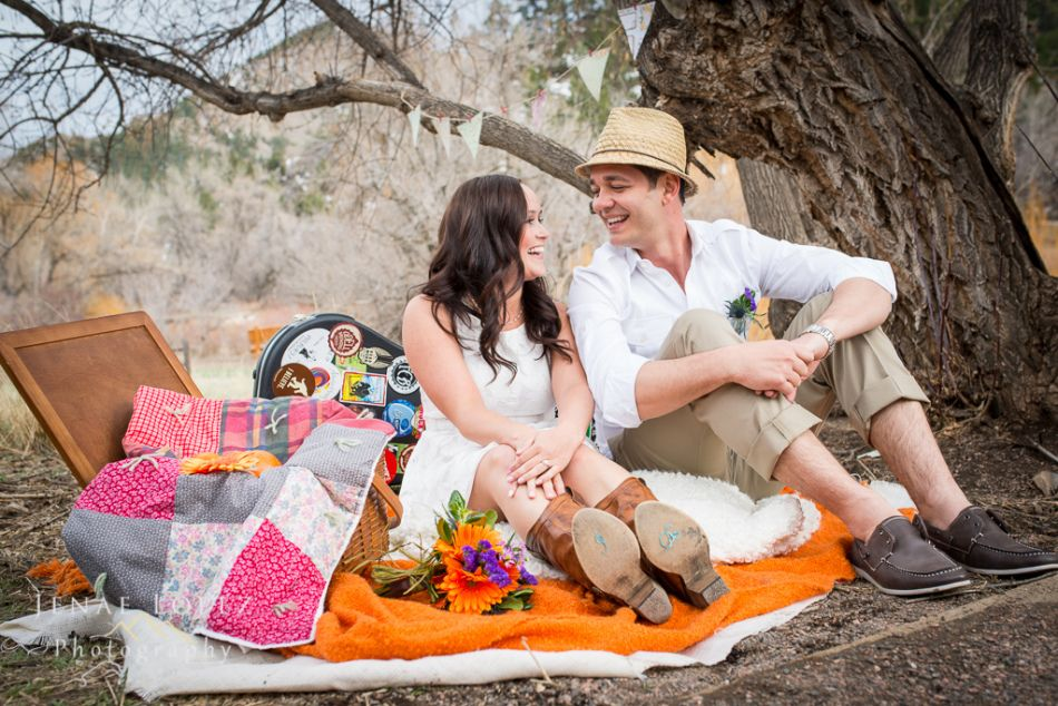 Double Whammy  Rustic Picnic Themed Styled Wedding Shoot And Engagement Shoot