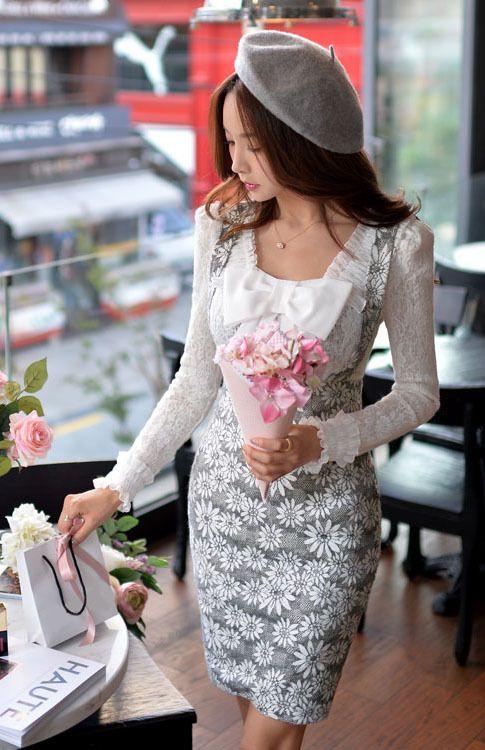 Morpheus Boutique  - Dark Grey Fancy Skirts Dress, $99.99 (http://www.morpheusboutique.com/new-arrivals/dark-grey-fancy-skirts-dress/)